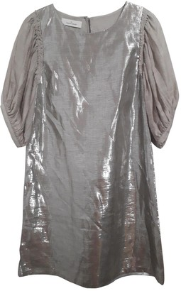 By Malene Birger Silver Cotton Dresses