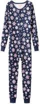 Joe Fresh Kid Girls' One Piece Sleeper, JF Midnight Blue (Size S)