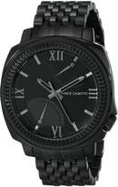 Vince Camuto Men's VC/1002BKTI The Veteran Multi-Function Bracelet Watch