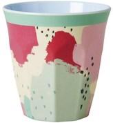 RICE A/S Melamine M Cup Two Tone w Splash Print