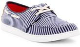Toms Culver Woven Stripe Boat Shoe