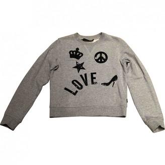 Moschino Love Grey Cotton Knitwear for Women