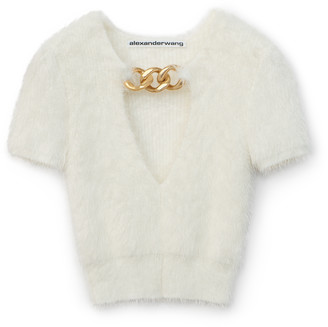 Collection Chain V-Neck Pullover