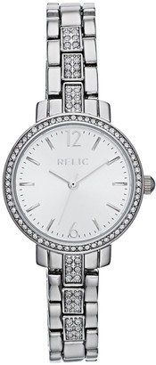 Fossil Relic by Women's Reagan Silver Tone Watch