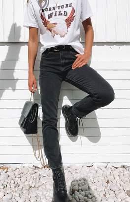 Beginning Boutique Ezra Boyfriend Jeans Black
