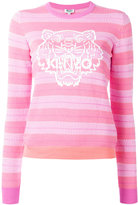 Kenzo Tiger silicon jumper - women - Cotton - M