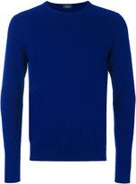 Zanone plain sweatshirt - men - Cashmere/Virgin Wool - 46