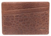 Will Leather Goods Men's 'Quip' Leather Card Case - Brown