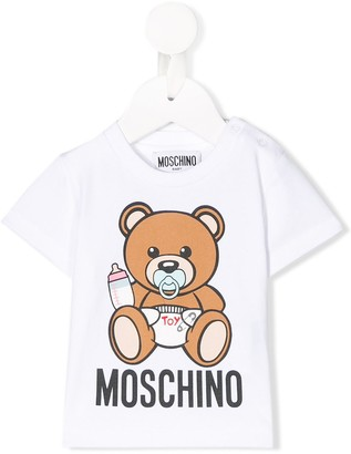 MOSCHINO BAMBINO Teddy Bear baby T-shirt