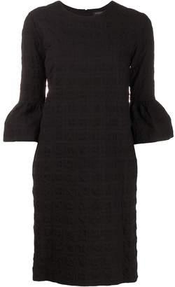 Antonelli textured puff sleeve dress