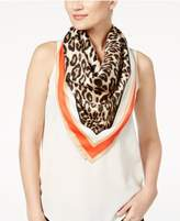 Vince Camuto Racing Leopard Print Square Scarf