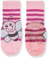 Sterntaler Baby Girls' Fli Sun Biene Calf Socks,4