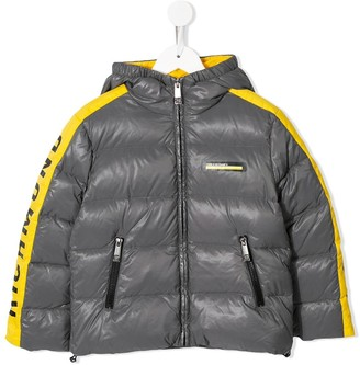 John Richmond Junior Side-Stripe Padded Jacket
