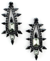Elizabeth Cole Perse Earring In Black and Mint