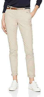 Tom Tailor Women's Slim Chino with Belt Trouser,W42/L30