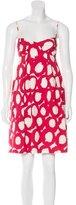 Moschino Printed A-Line Dress