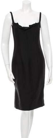 Valentino Wool & Silk Blend Sheath Dress w/ Tags
