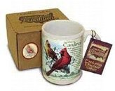 American Expedition American Expediton CM15-128 Northern Cardinal Stoneware Coffee Mug