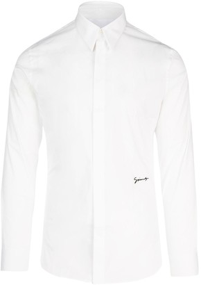 Givenchy Logo Embroidered Shirt