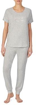 Kate Spade kate spake new york Embroidered Satin Trim Pajama Set - 100% Exclusive