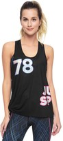 Juicy Couture Sport Laser Skies Knotted Tank