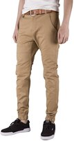 Italy Morn Mens Chinos Casual Pants Khakis Joggers Dress Slim Fit Black