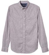Banana Republic Grant Slim-fit Custom-wash Stripe Shirt