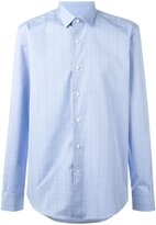 Lanvin checked dress shirt