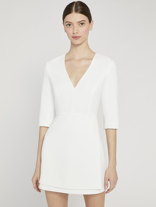 Alice + Olivia Stevie Double Layer Mini Dress