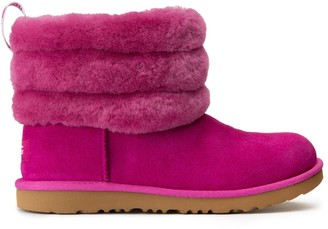 UGG Kids Fluffy Boots