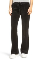 Juicy Couture Women's Del Rey Velour Track Pants