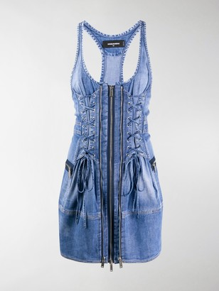 DSQUARED2 Denim Mini Dress
