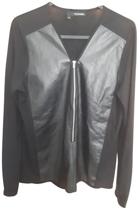The Kooples Black Leather Top for Women
