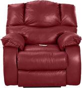 Asstd National Brand Hillside Leather Heat and Massage Recliner