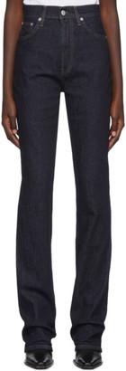 Helmut Lang Indigo Femme Bootcut Jeans