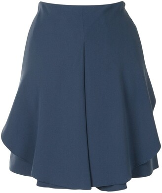 Emporio Armani Pleated Mini Skirt
