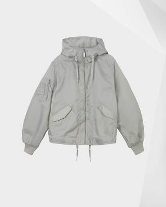 Hunter Women's Refined Drawstring Bomber Jacket