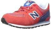 New Balance KL574 Summit Infant Running Shoe (Infant/Toddler)