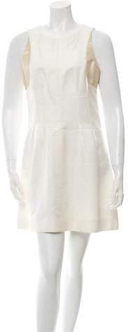 Chanel Metallic-Accented Mini Dress