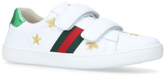 Gucci Kids New Ace VL Bee Sneakers