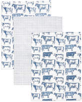Marks and Spencer 3 Pack Country Cow Kitchen Print Bale
