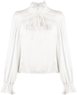 Temperley London Ruffle Trim Shirt