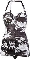 Maison Margiela floral print bodie - women - Polyamide/Polyurethane/Spandex/Elastane/Viscose - 42