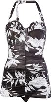 Maison Margiela floral print bodie - women - Polyamide/Polyurethane/Spandex/Elastane/Viscose - 44