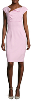 Ava & Aiden Asymmetrical Sheath Dress