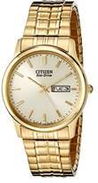 Citizen Men's BM8452-99P Eco-Drive Flexible Band -Tone Watch