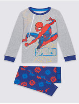 Marks and Spencer SpidermanTM Pyjamas with Stretch (2-10 Years)