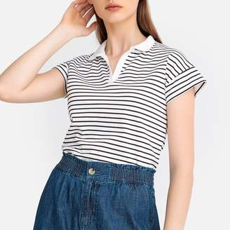 La Redoute Collections Striped Polo Shirt