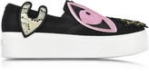 Kenzo K-Patch Slip-on Platform Sneakers