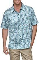 Nat Nast Men's El Capitol Silk & Cotton Camp Shirt